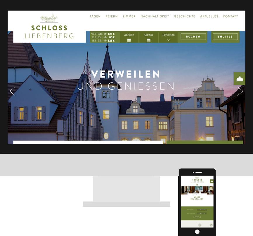 Screenshot Schloss Liebenberg