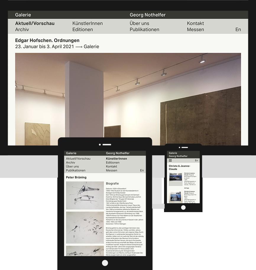 Screenshot Galerie Georg Nothelfer